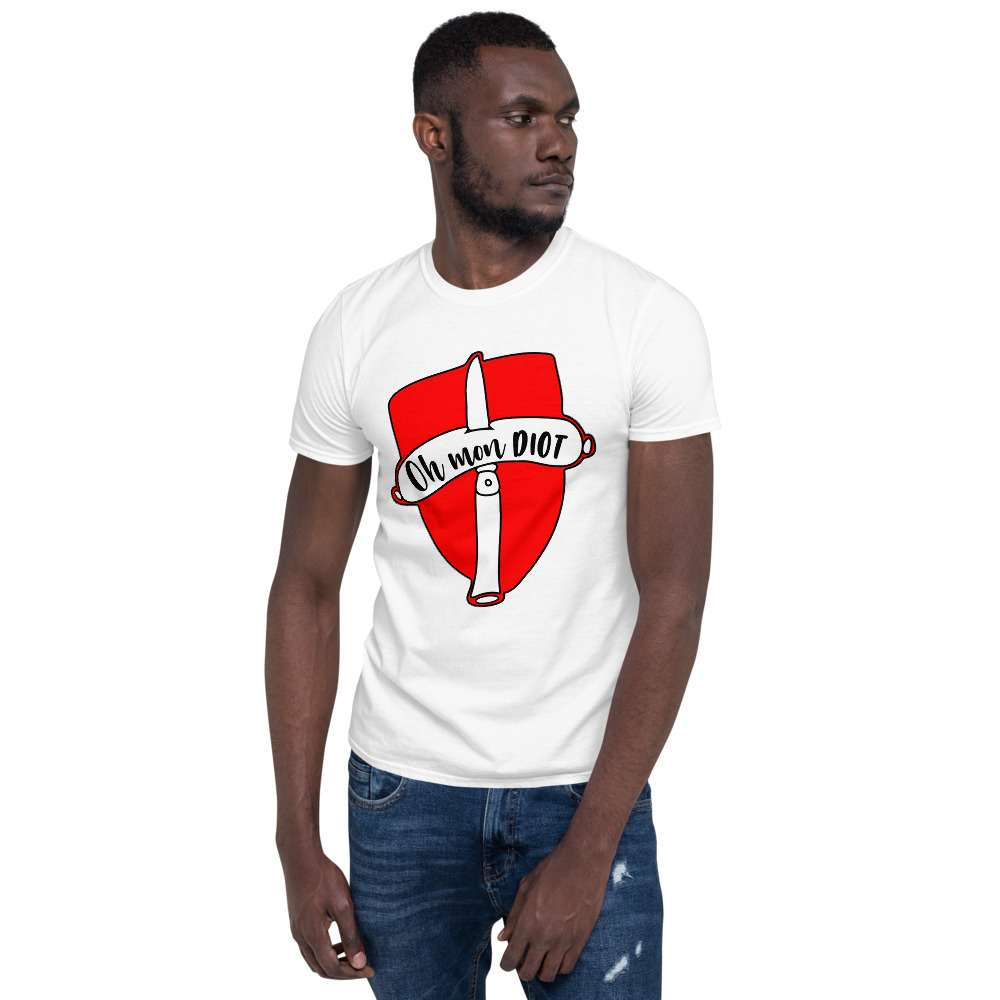 T-shirt-homme-humour-oh-mon-diot